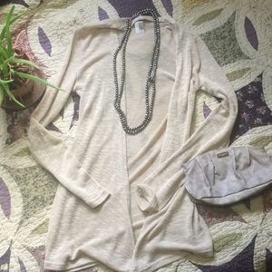 Francesca Cream Cardigan